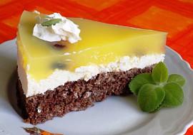 Vločkovo-tvarohový dort recept