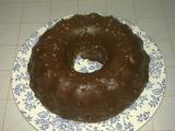 Bábovka z pudinku s čokoládovou polevou recept