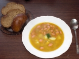 Frankfurtská polévka s bramborami recept
