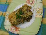 Zapečené těstoviny s houbami recept