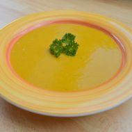 Krémová polévka z červené čočky s kurkumou recept