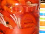 Sterilovaná paprika s olejem recept