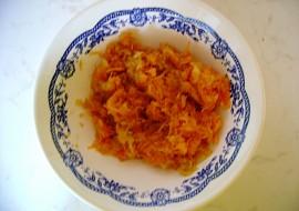 Mrkvovo  jablečný salátek recept