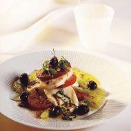 Salát s rajčaty a mozzarellou recept