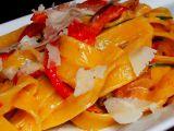 Tagliatelle s pečenou paprikou recept