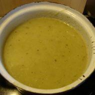 Pórková polévka s brambory recept