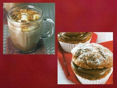 Kokosové čoko a brusinkové muffiny
