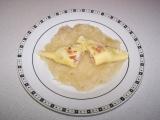 Taštičky s uzeným masem a sýrem recept