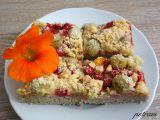 Ovocný koláč s drobenkou bez lepku, mléka a vajec (bez komerční ...