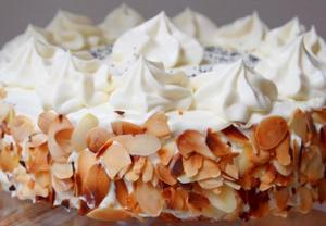 Kokosový dort