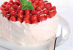 Hrníčkový šlehačkový dort