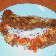 Kuřecí směs se zeleninou v bramboráku recept