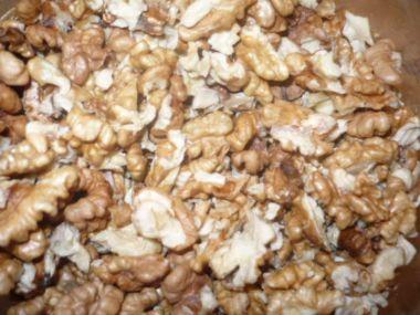 Ořechy zavařené v mikrovlnce