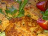 Rýžovo-pohankové smažené placičky se sýrem a klobásou recept ...