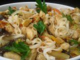 Kuřecí kousky se zeleninou a sušenými houbami recept ...