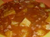 Buřtgulášek recept