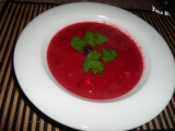 Zelňačka s červenou řepou recept