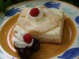 Mřížkový koláč s tvarohem a ovocem recept