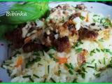 Božská mana z mletého masa na rýži recept