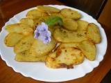 Pečené brambory s chutí česneku recept