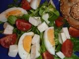 Salát z polníčku a rukoly recept