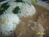 Vepřové plátky se staročeskou rýží recept
