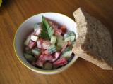 Řecký salát recept