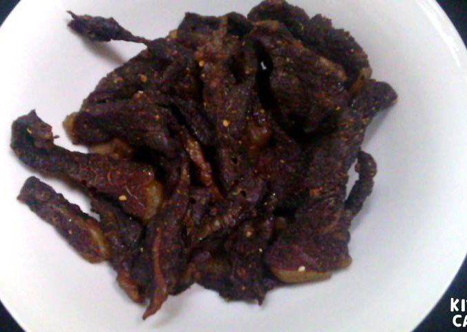 Sušené hovězí maso – jerky recept
