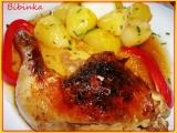 Bibinčiny kuřecí stehna plněná cuketovou nádivkou recept ...