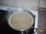 Čočková polévka s bramborem a smetanou. recept