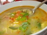 Drožďová polévka s kořenovou zeleninou, paprikou a rajčaty recept ...