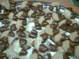Vaflové rohlíčky recept