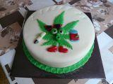 Dort s listem marihuany recept