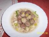 Polévkové knedlíčky z vinné klobásy recept