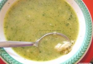 Blesková vajíčková polévka