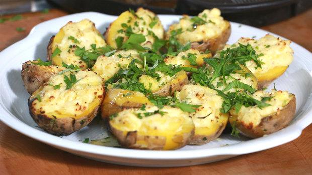 Křenové brambory