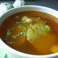 Kořeněná česneková polévka recept