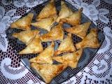 Šátečky z listového těsta recept