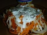 Podzimní salát s dýní recept