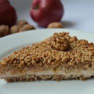 Bezlepkový ořechový koláč recept