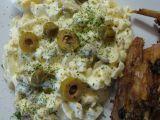 Vajíčkový salát s olivami a kapary recept