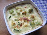 Brokolice a květák zapečené v sýrovém bešamelu recept ...