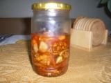 Sušená rajčata s česnekem recept