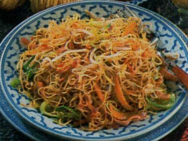Orientální těstoviny se zeleninou (i pro Dia)