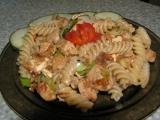 Těstoviny s balkánem recept