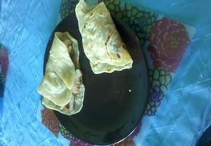 Mexické placky tortillas z mouky