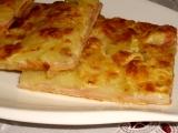 Slaný koláč s brambory recept