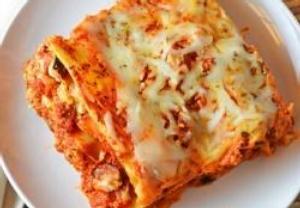 Lasagne bez bešamelu