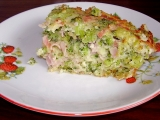 Brokolicový nákyp recept