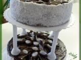 Patrový čokoládový dort s mušlemi recept